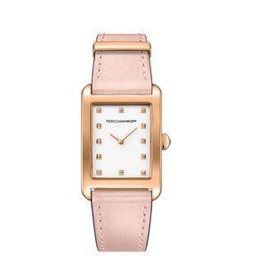 Rebecca Minkoff Rose Goldtone Leather Watch